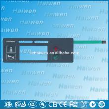 Пользовательские высококачественные ПЭТ водонепроницаемый мембранный переключатель панели