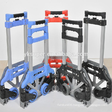 Foldable aluminum hand truck luggage trolley/trolley luggage for sale