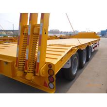 Reboque da cama do carregador da máquina escavadora da carga do caminhão de reboque de Cimc baixo