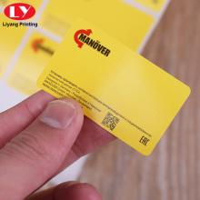 Etiqueta de vinilo personalizada Impresión de etiquetas Etiquetas de PVC Rollo