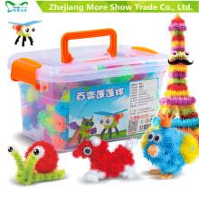 500+ Медаптечки головоломки DIY образовательные Рождественский праздник для детей день рождения подарок Торн мяч игрушки