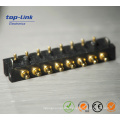 Customized 5pin Right Angle Pogo Pin Battery Connector with High Current