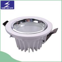 7W LED ronde encastrée luminaire plafonnier Downlight