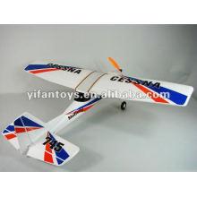 Novo 2.4G 3 ch Cessna rc plano / TW 745 CESSNA