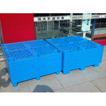Palette en plastique à usage unique pour entrepôts