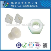 Made in Taiwan High Quality OEM ODM M6 M8 Plastic Insert Nut