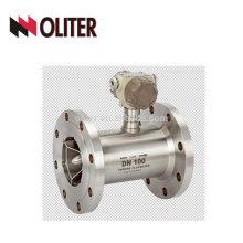SS 304 4-20ma output flow meter digital turbine gas meter