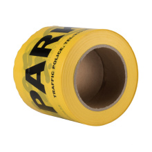 Fita adesiva de marcação durável de material PET amarelo e preto