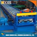Tuiles d'enclenchement de plancher faisant la machine pour la tôle
