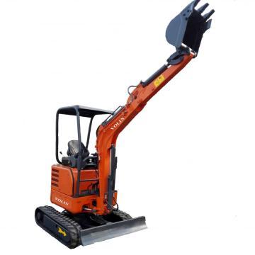 1.8 Ton Kubota Engine Zero-Tail Swing Mini Excavator