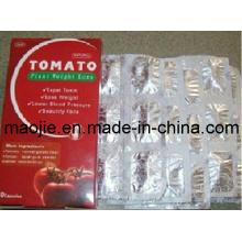 Capsule de perte poids sain tomate plante