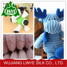100% polyester 1 wale corduroy fabric for slipper