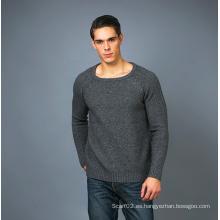 Suéter de la cachemira de la manera de los hombres 17brpv125