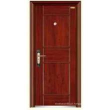 Porta pop na Tailândia aço segurança KKD-316 aço inoxidável porta para o principal projeto da porta