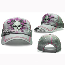 5-Panel Thicker Stitching Bequeme Baseball Sport Mesh Cap (TRT015)