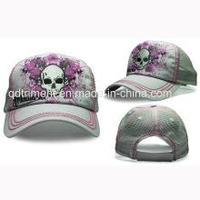 5-панельный более плотный шов Удобная бейсбольная спортивная сетчатая кепка (TRT015)