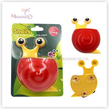 Badezimmerzubehör Kinder Tier Zahnbürstenhalter mit Saugnapf (schneckenförmig)