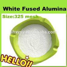 325mesh blanc poudre d'alumine fondue pour le sablage