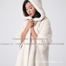 Lady Kopenhagen Mink Fur Velvet Overcoat Winter