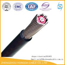 Alambre concéntrico del cable del conductor de aluminio / de cobre con precio del conductor neutral