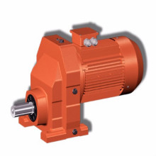 Inline Gear Reduction Box Helical Gearmotors