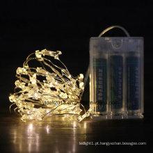 Luzes de corda LED Cooper com mudança de cor LED 100
