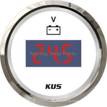 Best Sale 52mm Digital Voltmeter Voltage Gauge 12V 24V 9-32V with Backlight