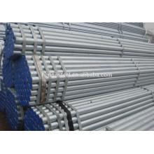 Tubo de acero redondo galvanizado Sch 40 erw