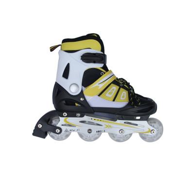 Kids Sports Yellow Inline Skate