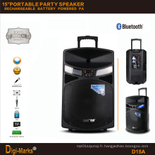 2016 Haut-parleur Hi-Fi sans fil Bluetooth DJ Haut-parleur Outdoor