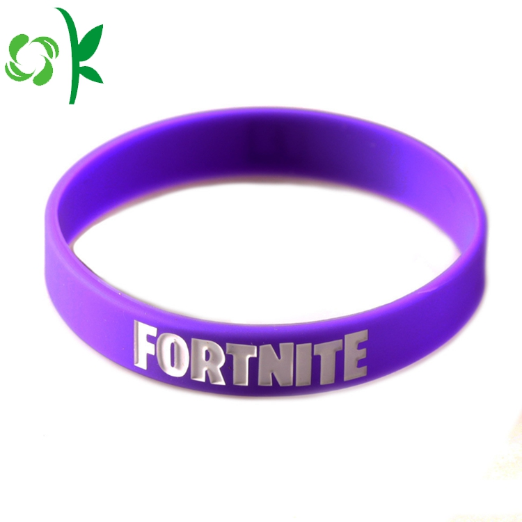 Silicone Purple Bracelet Bands