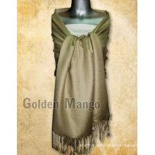 Bufandas de viscosa / acrílico de color sólido