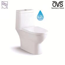 Американский Стандарт Один Кусок Пол-Установленный Туалет Туалет