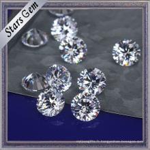 Vente chaude 8mm zircon cubique pour les bijoux de mode