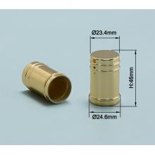 Diferentes tipos de tapas de perfume, tapa de aluminio con costilla rodante