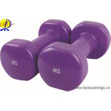 Neopreno colorido de alta calidad que sumerge la pesa de gimnasia