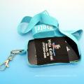 Entrega rápida Ployester personalizada impresión de correa de teléfono celular de cadena
