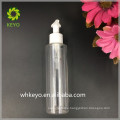 Multi color purple plastic pet spray bottle white pet cosmetic 150ml pet bottles round for packing