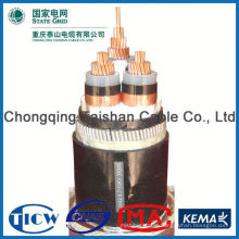 Factory Wholesale 15kv 3x240mm 240mm2 xlpe insulated steel tape armored mv cable