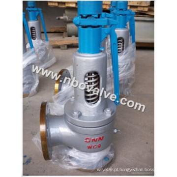 Válvula de segurança de pressão da mola a vapor (classe A48H-600)