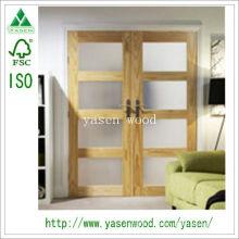 Шейкер Стиль 4 Lite Ясно Сосновая Стойка Деревянная Дверь