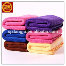 SPA microfibre face cleaning cloth towel with logo