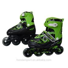 Chaussures de patin à roulettes en ligne réglables au vendeur chaud à vendre