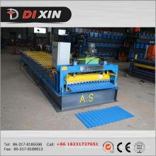 Máquina para fabricar chapas de metal corrugado
