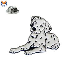 Insignia animal modificada para requisitos particulares del Pin de la solapa del perro del esmalte del diseño