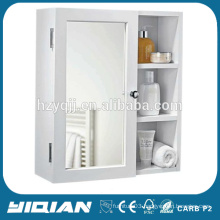 Hot Sell Wall Mount PVC Medicine Bathroom Mirror Cabinet