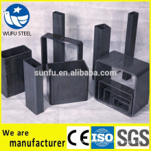 Round square & rectangular Q345B steel tube made in China