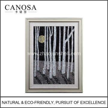 CANOSA shell night sence Wall Picture frame