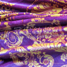 Tecido de camurça de poliéster brongzing para decoração doméstica (GY003)
