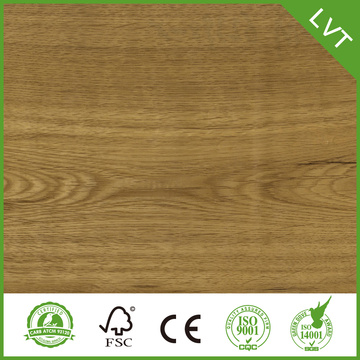 Wood Grain Vattentät Dryback 3mm vinyl golv